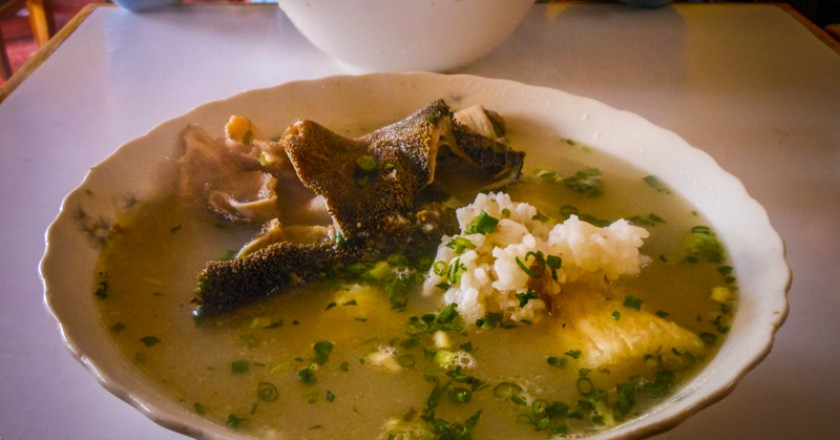 Delicious Bowl of Panza Soup (Photo: Wayra)