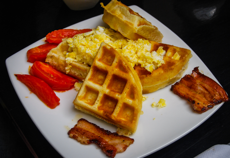 American Waffles at The Meeting Place (Photo: Wayclark)