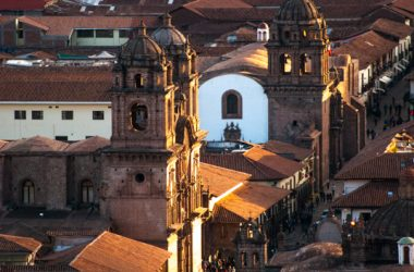 Sunset over Cuzco (Photo: Wayra)