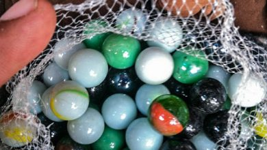 Marbles for Sale in the Market