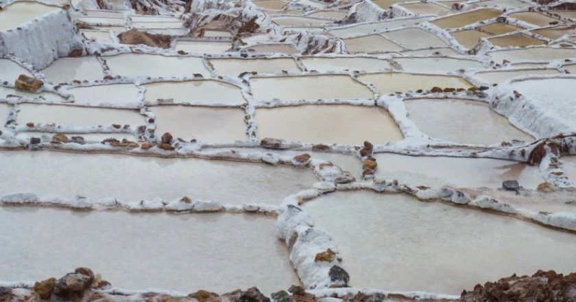 The Famous Salt Terraces of Maras