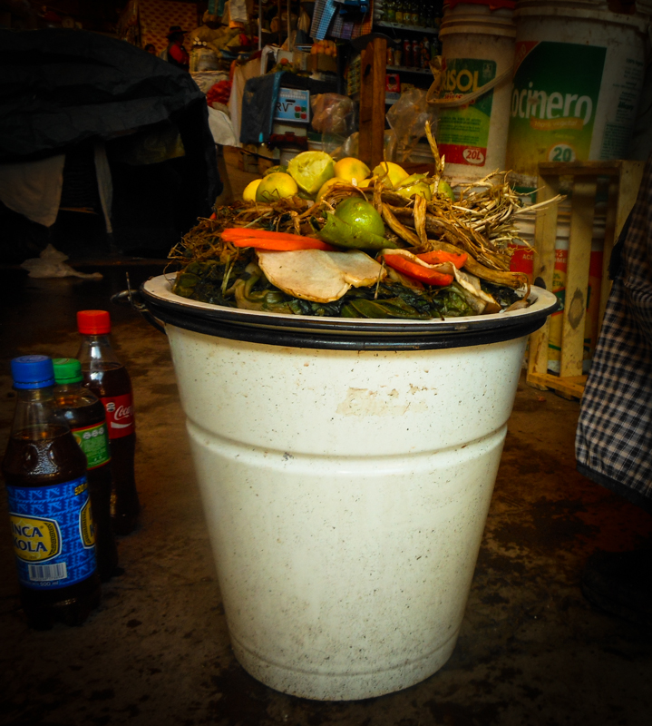 White, Tin Bucket Filled with Herb Tea (Photo: Wayra)