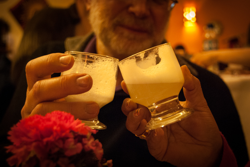 Pisco Sour, Cheers for a Good Life (Photo: Walter Coraza)