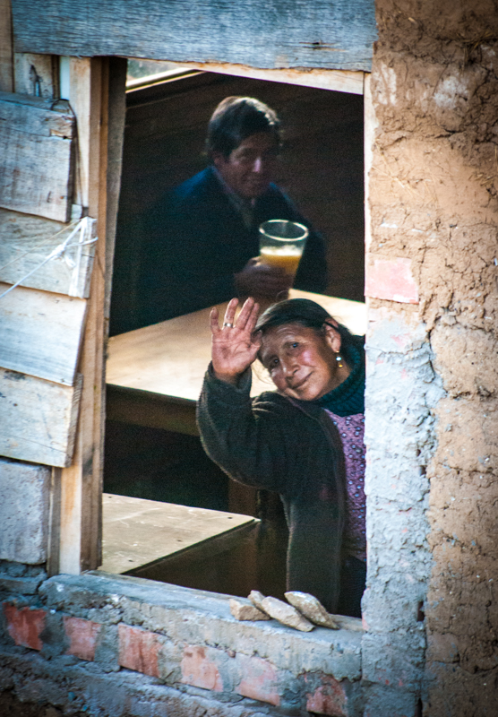 Saying Hi in Cuzco (Photo: Walter Coraza Morveli)