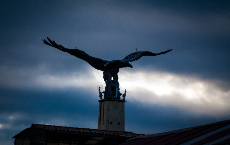 The Condor Flies in San Sebastian Cuzco