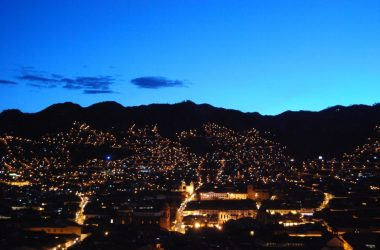 City of Cuzco by Night (Photo: Walter Coraza Morveli)
