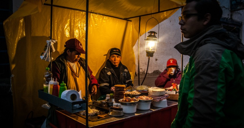 Street Food in Cuzco (Photo: Walter Coraza Morveli)q