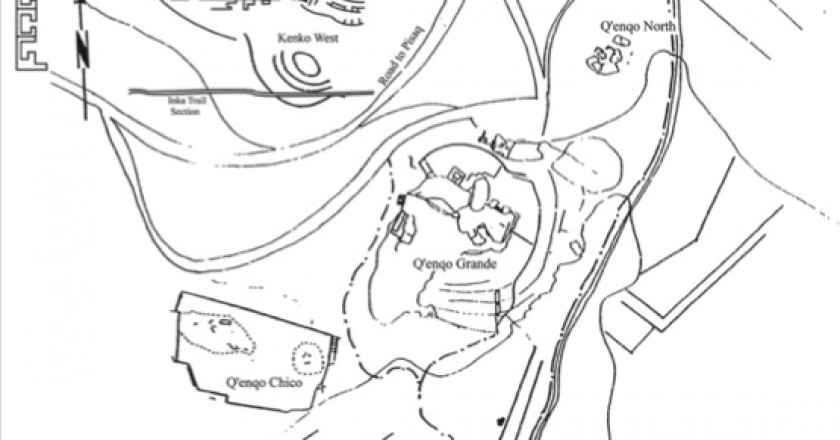 Plan of Q'enqo from Christie