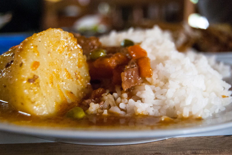 Delicious Stew in Cuzco