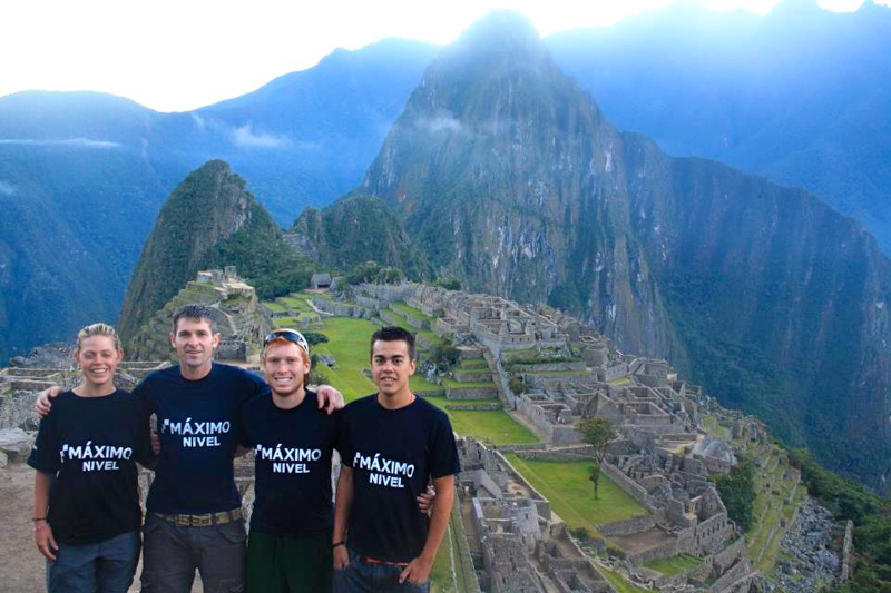 Maximo Nivel Teachers in Machu Picchu