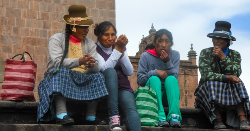 Quechua speakers in cusco.