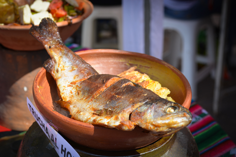 Baked Trout and Potatoes Frozen with Cheesse (Photo: Walter Coraza Morveli)