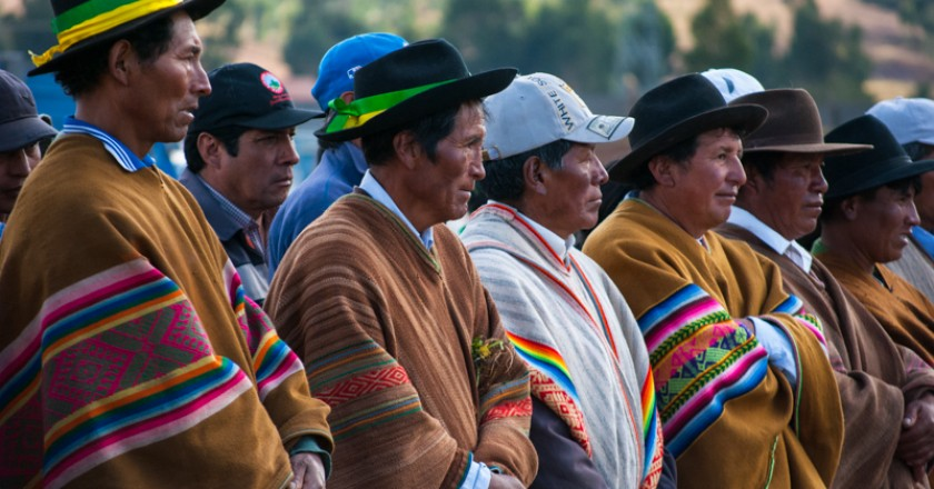 A Group of Fathers in Cuzco (Walter Coraza Morveli