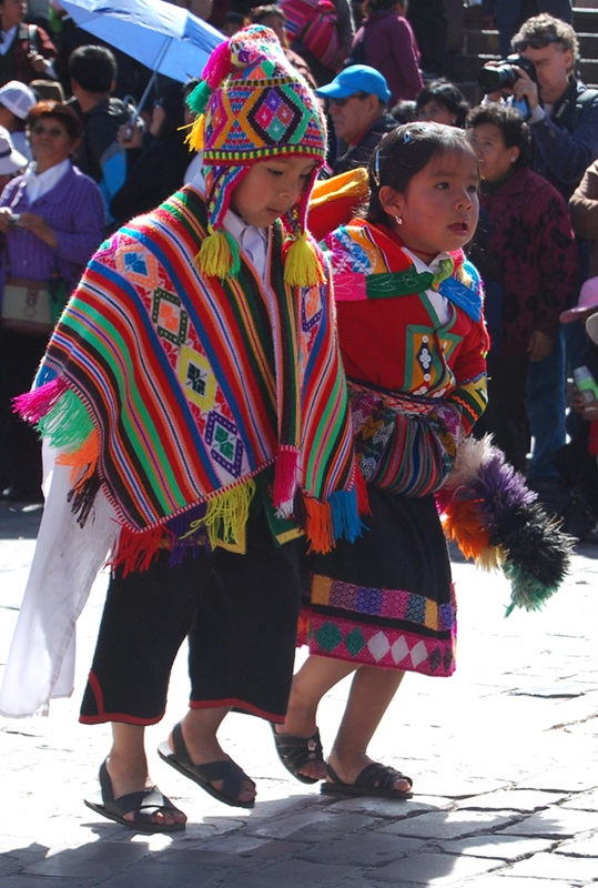 Saluting the City of Cuzco (Photo: Walter Coraza Morveli)