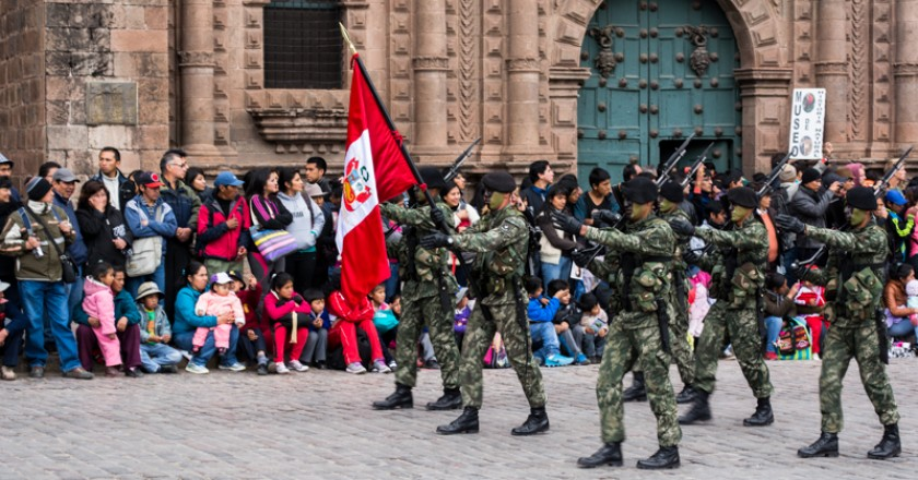 Peru's Army Marches with Pride (Wayra)