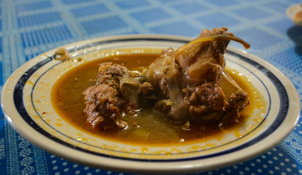 A Savory Adobo, One of the Great Traditional Dishes of Peru (Arnold Fernandez Coraza)