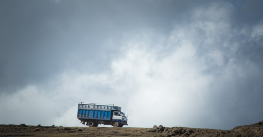 A Truck at the Top of the World (Walter Coraza Morveli)