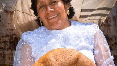 Mama Josefina Offering Her Bread