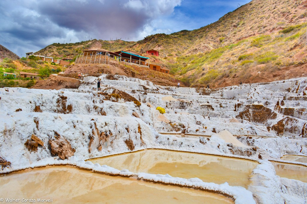 The Salt Ponds of Maras in the Sacred Valley (Walter Coraza Morveli)