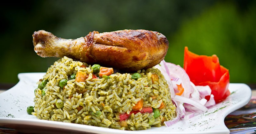 Peru's Favorite Arroz con Pollo