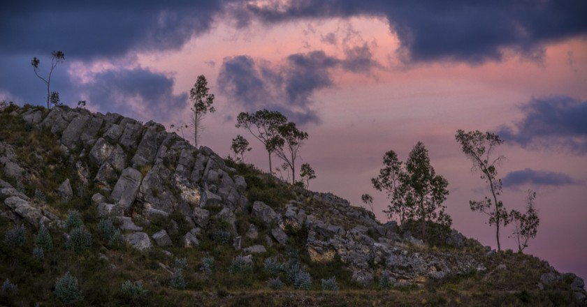 Sunset Over Cusco's Mountains, Sacsayhuaman (Walter Coraza Morveli)