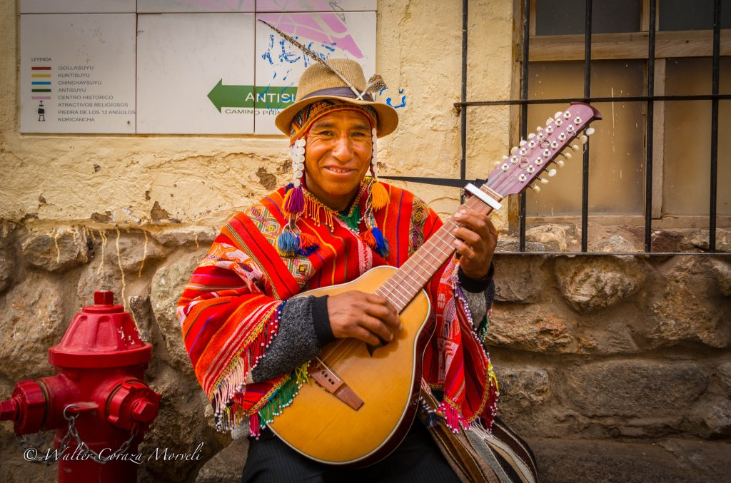A Traditional Musician of Cuzco