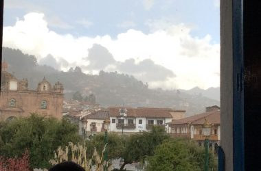 From the Balcony: Rain over Cusco (Brayan Coraza Marveli)