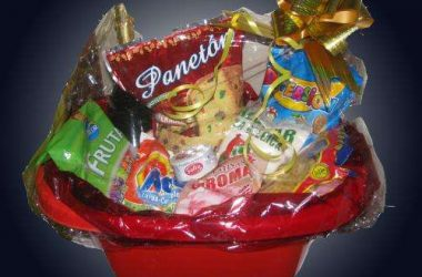 A Gift of a Big Basket of Food