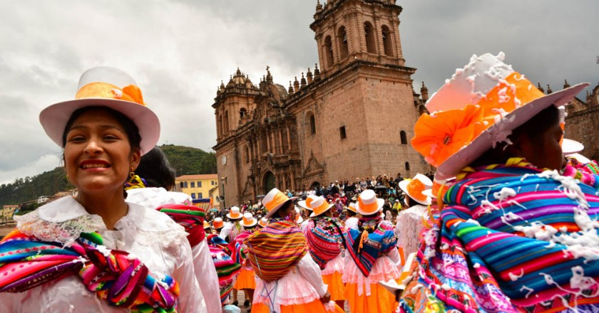 Last Day of Cusco's Carnival