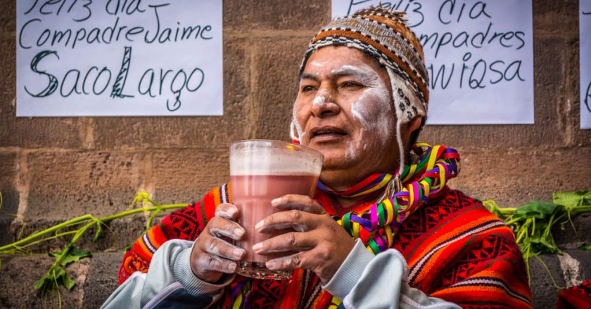 A Compadre with a Glass of Fruitillada