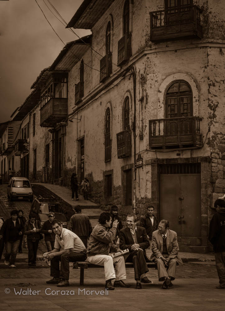Saturday Day in San Pedro Street (Walter Coraza Morveli)
