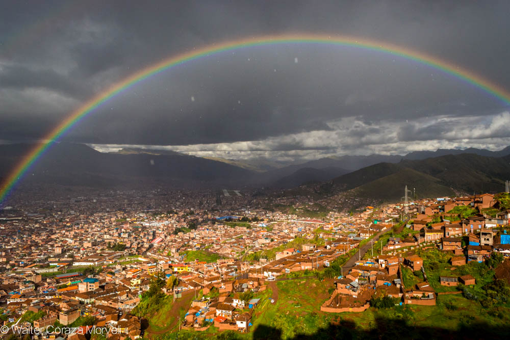 A Rainy Day and Nice Rainbow (Walter Coraza Morveli)