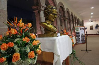 Don Bosco and a Photo Exhibit in Cuzco's Municipality