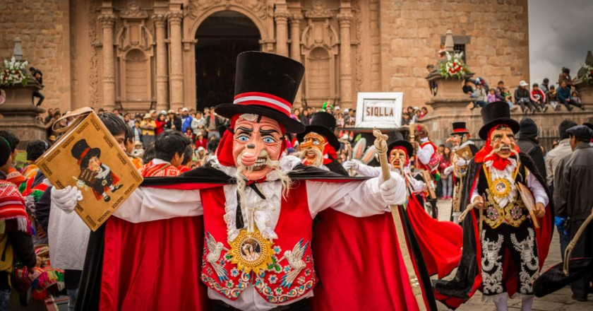A Parade for Cusco Celebration (Walter Coraza Morveli)