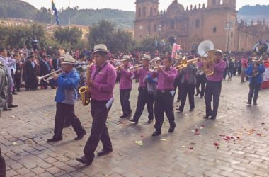 Band Playing in the Plaza this Morning (Arnold Fernandez Coraza)