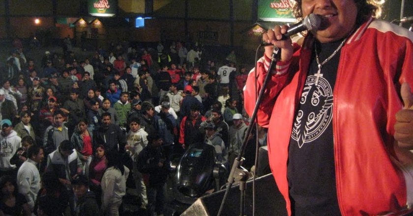 Toño Centella, a Chicha Concert in Lima When you think about chicha, the typical Ande