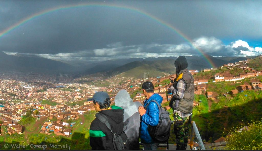 A Rainy Day and a Rainbow on Cusco