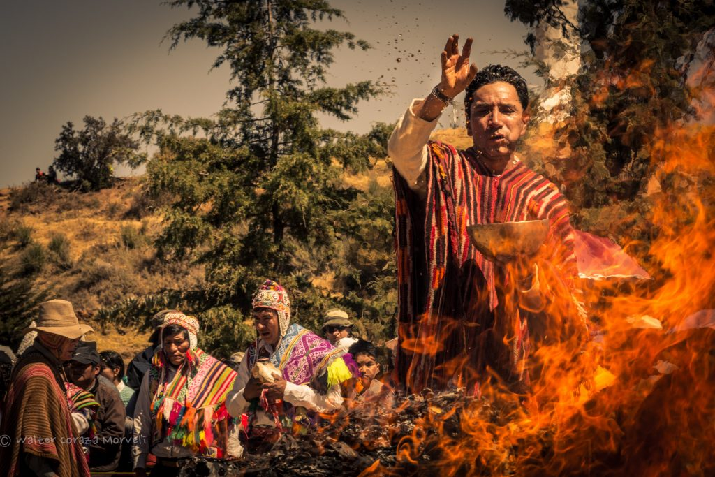 Making an Inca Ritual