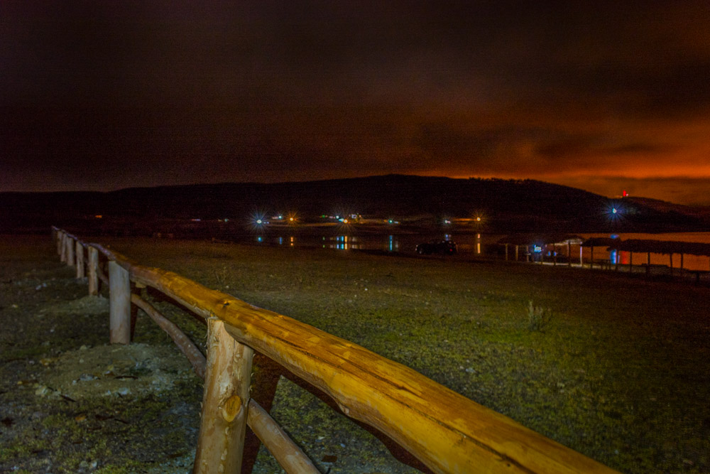Huaypo Lake by Night