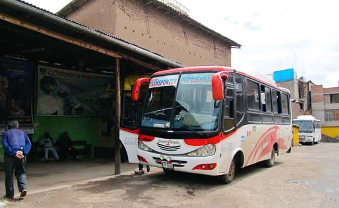 A Bus to the Sacred Valley