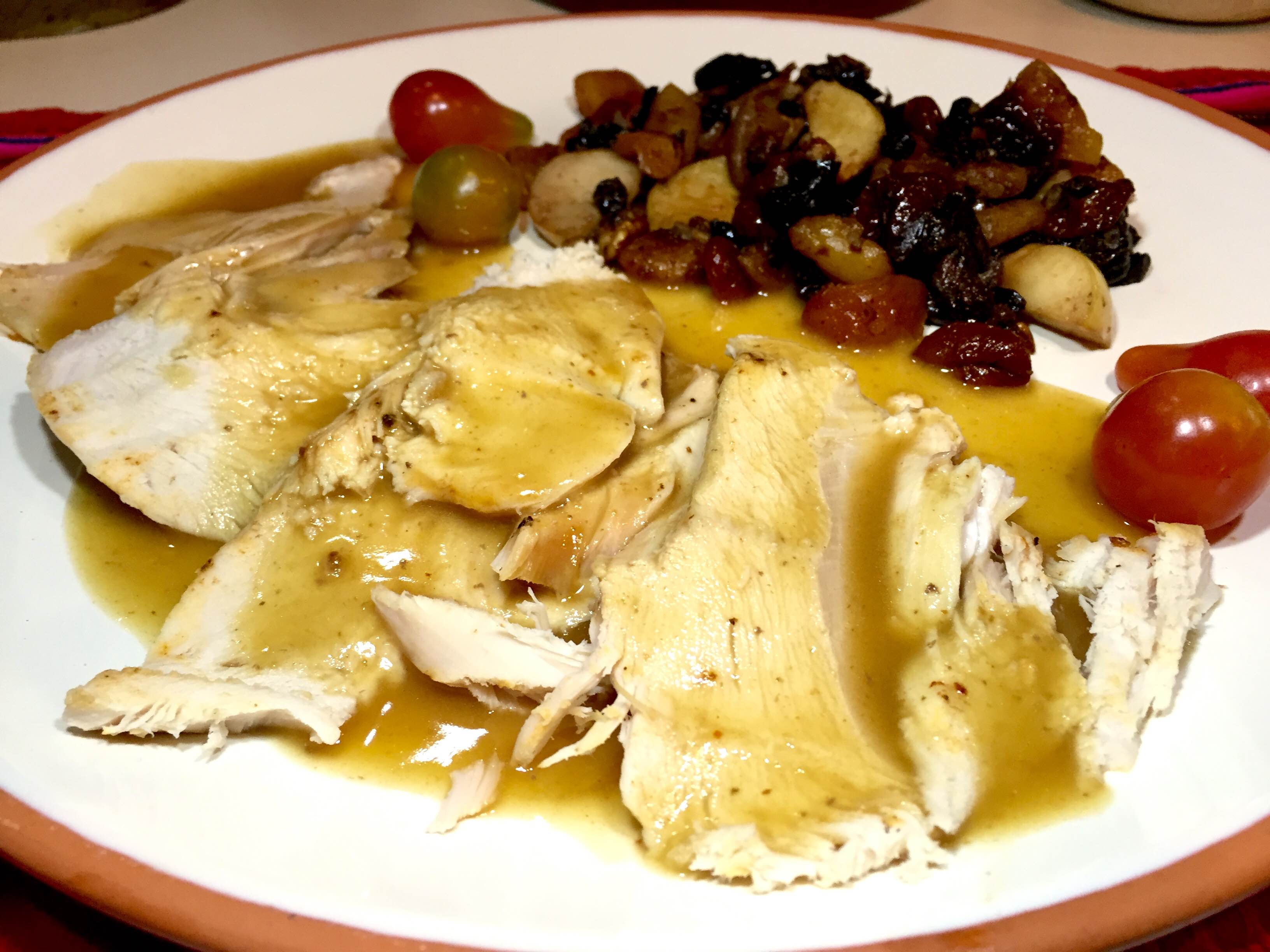Turkey and Dried Fruit Stuffing