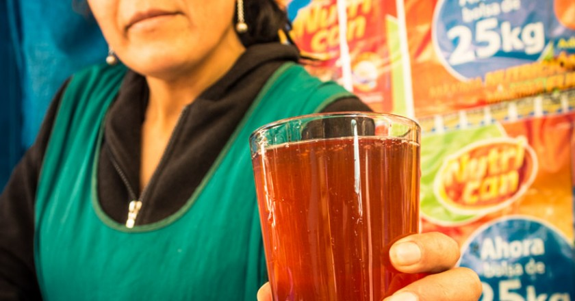 Herbal Drink in Wanchaq Market