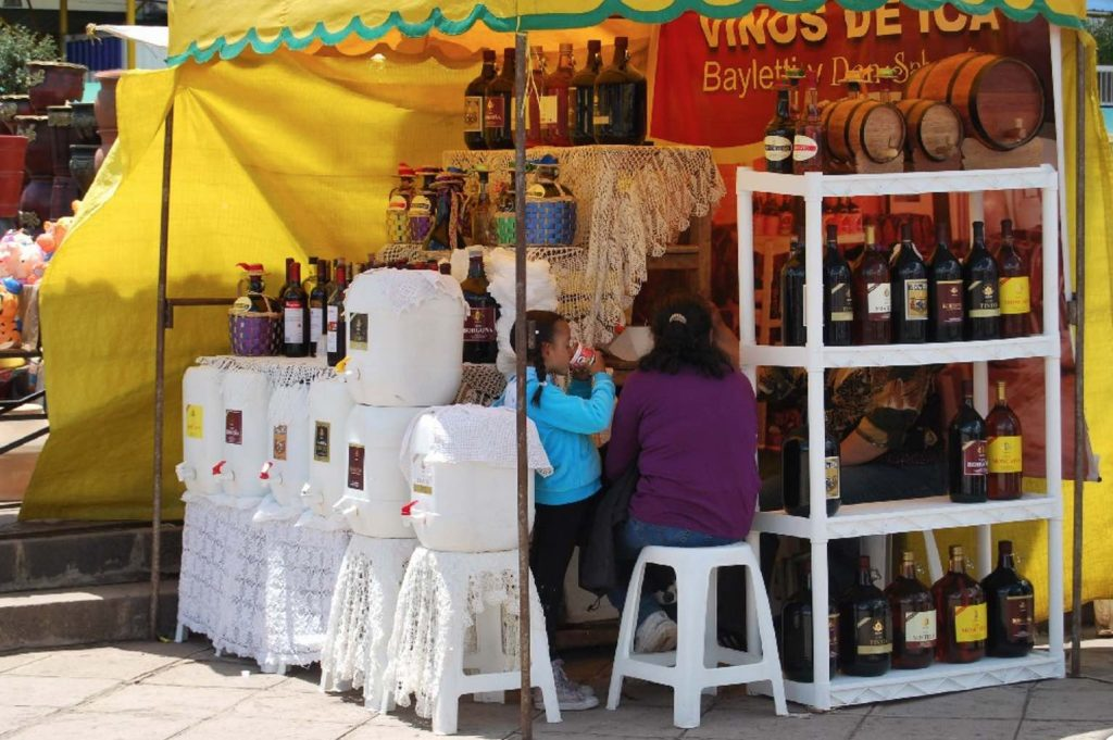 Wines for Sale on the Street