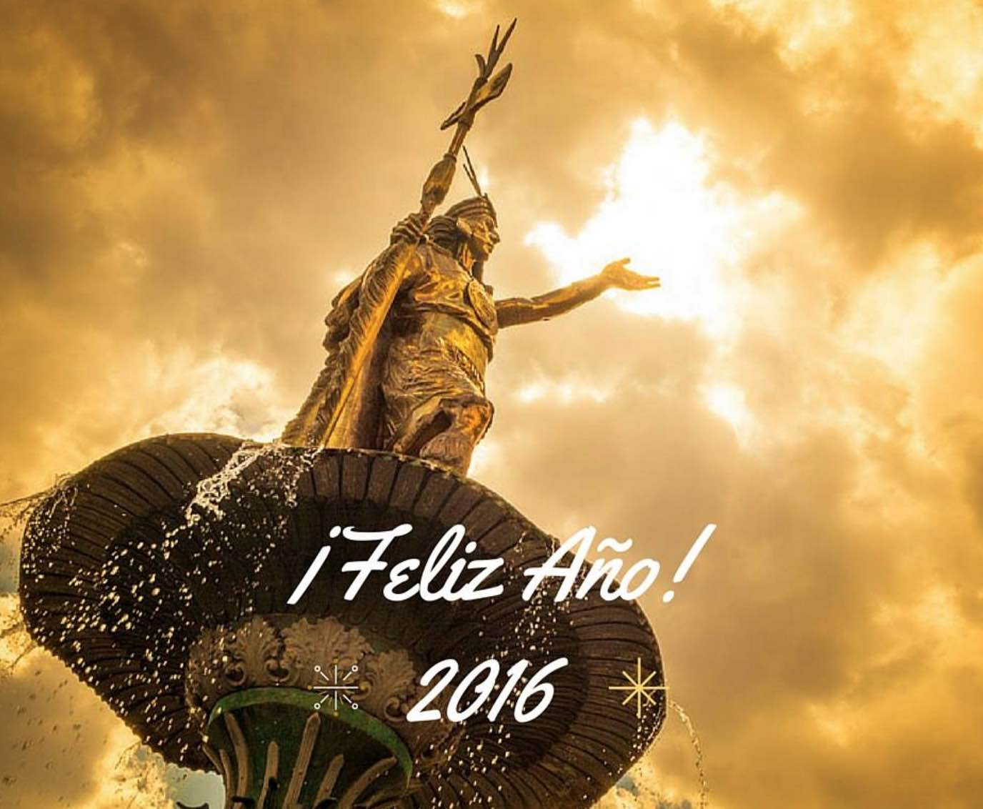 Happy New Years from the Inca and from Us (Walter Coraza Morveli)