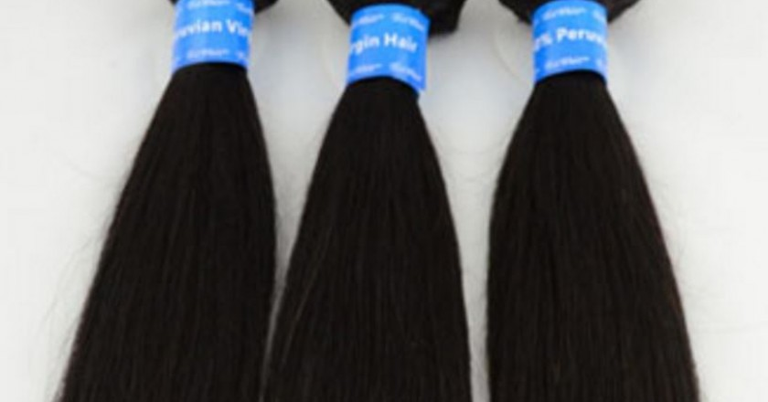 Bundles of Peruvian Hair