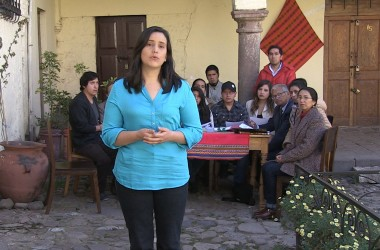 Veronica Mendoza in Cusco