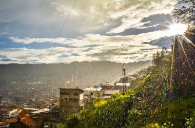 Rain and Sun together in Cusco (Hebert Edgardo Huamani Jara)