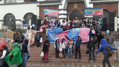 March in Cusco