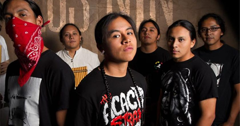 Los Nin blend Spanish hip-hop with Kichwa, the Incan pre-Columbian language [Photo: Los Nin]