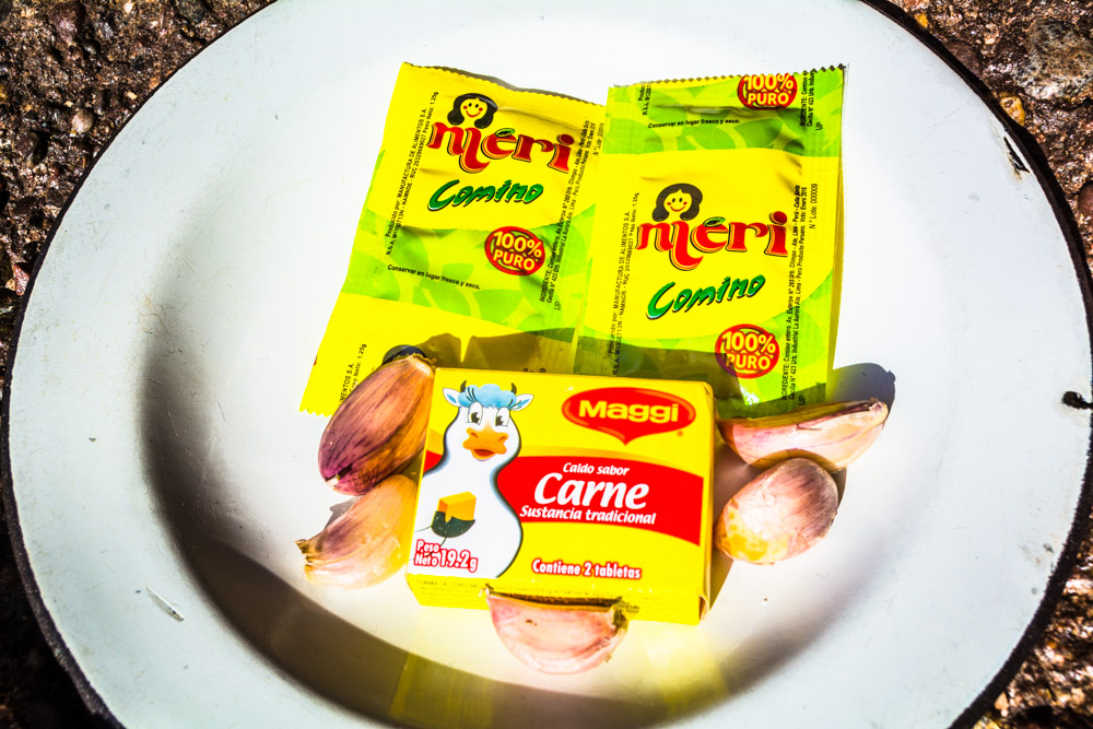 Packets of Cumin and Broth